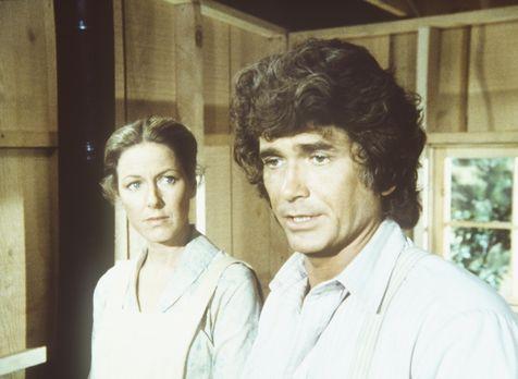 Unsere kleine Farm - Caroline (Karen Grassle, l.) und Charles (Michael Landon...