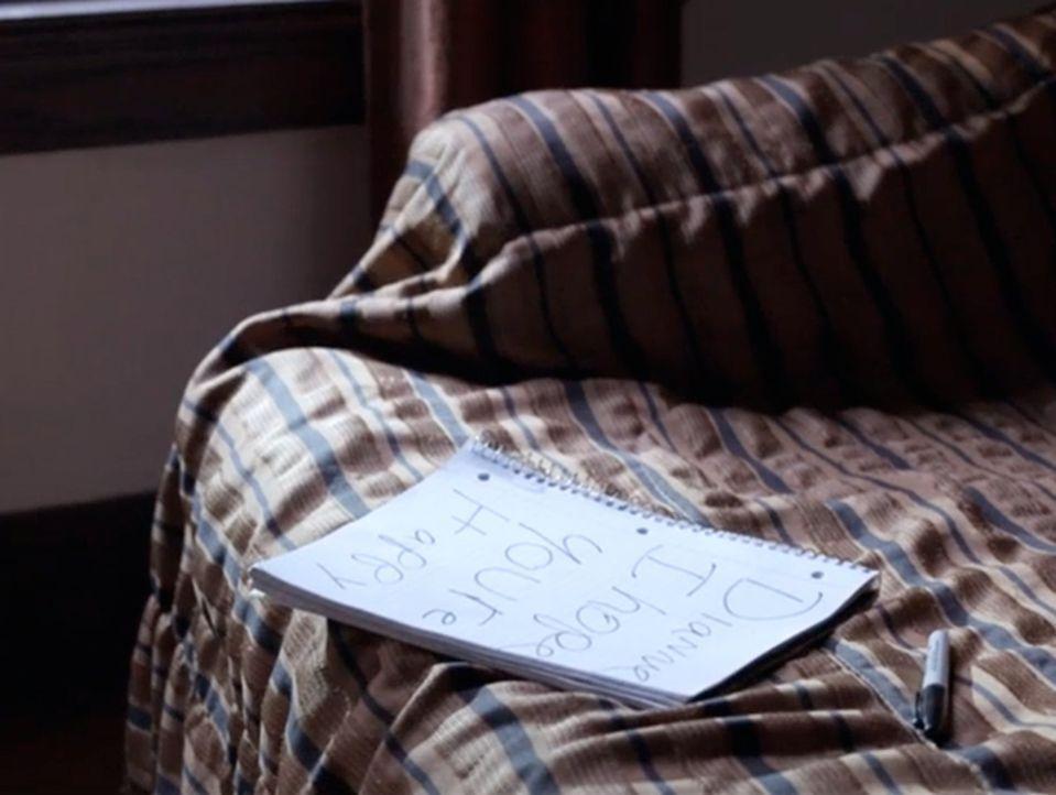 Kann diese handgeschriebene Notiz Ermittler Joe Kenda und seinem Team helfen, den Mörder zu finden? - Bildquelle: MMXV DISCOVERY COMMUNICATIONS, LLC.