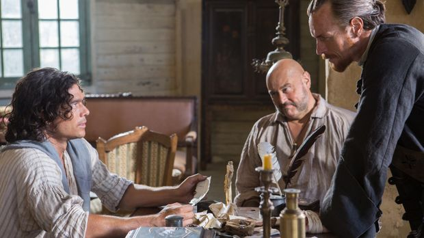 Um den berühmten Urca d'Lima-Schatz zu finden, müssen Captain Flint (Toby Ste...