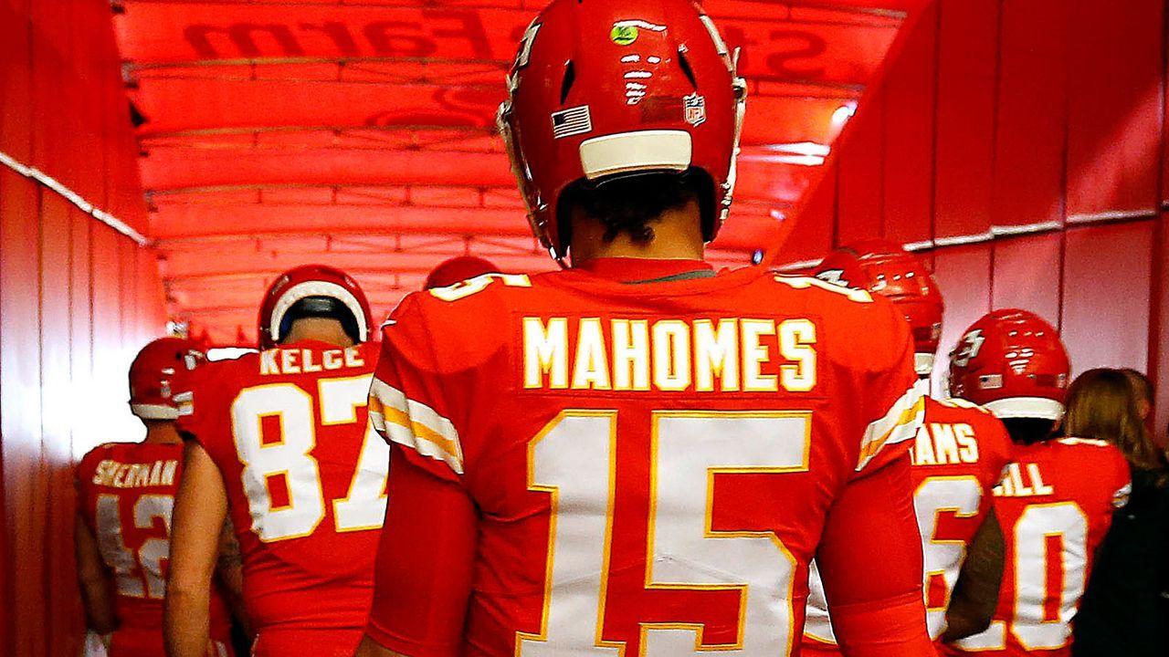 Platz 3: Patrick Mahomes (Kansas City Chiefs) - Bildquelle: 2018 Getty Images