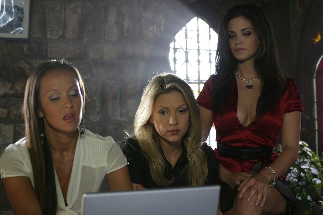 Planen nichts Gutes: Isabelle (Crystal Lowe, l.), Daisy (Miriam McDonald, M.) und Azalea (Shawna Waldron, r.) ... - Bildquelle: 2008   Warner Brothers
