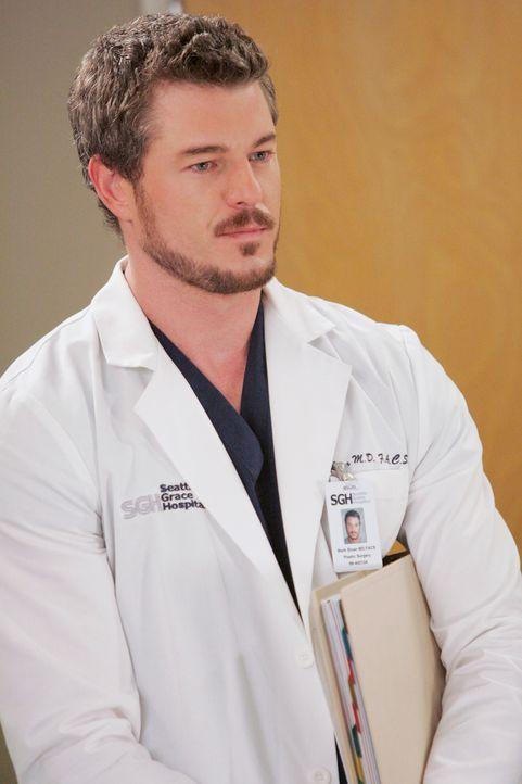 Wird von Izzie in die Schranken gewiesen: Dr. Mark Sloan (Eric Dane) ... - Bildquelle: Touchstone Television