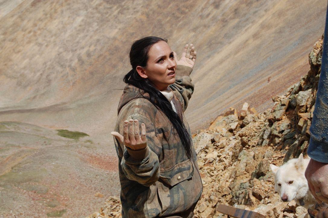 Amanda (Bild) und Travis sind zum ersten Mal in der neuen Saison in der Mine und wollen sie startklar machen. Doch sie müssen feststellen, dass dort... - Bildquelle: High Noon Entertainment 2014