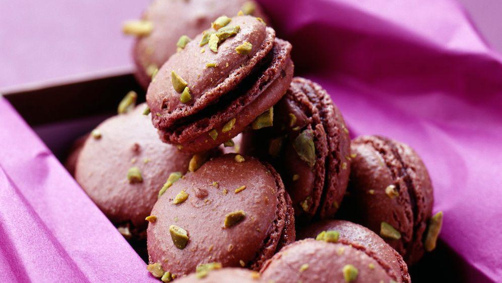 Leckere Macarons aus Pflaumen - Bildquelle: Photocuisine