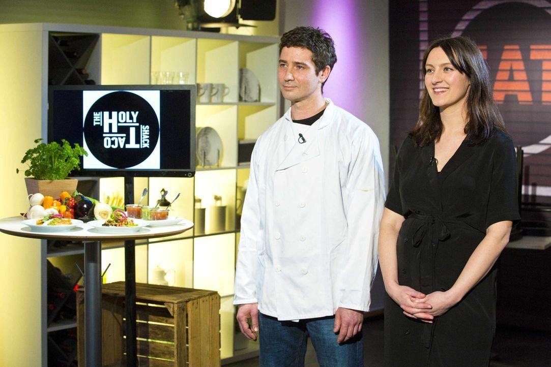 """Wie werden sich Anika und Geoff von """"The Holy Taco Shack"""" im Kampf um das Startkapital schlagen? - Bildquelle: Richard Hübner kabel eins"""