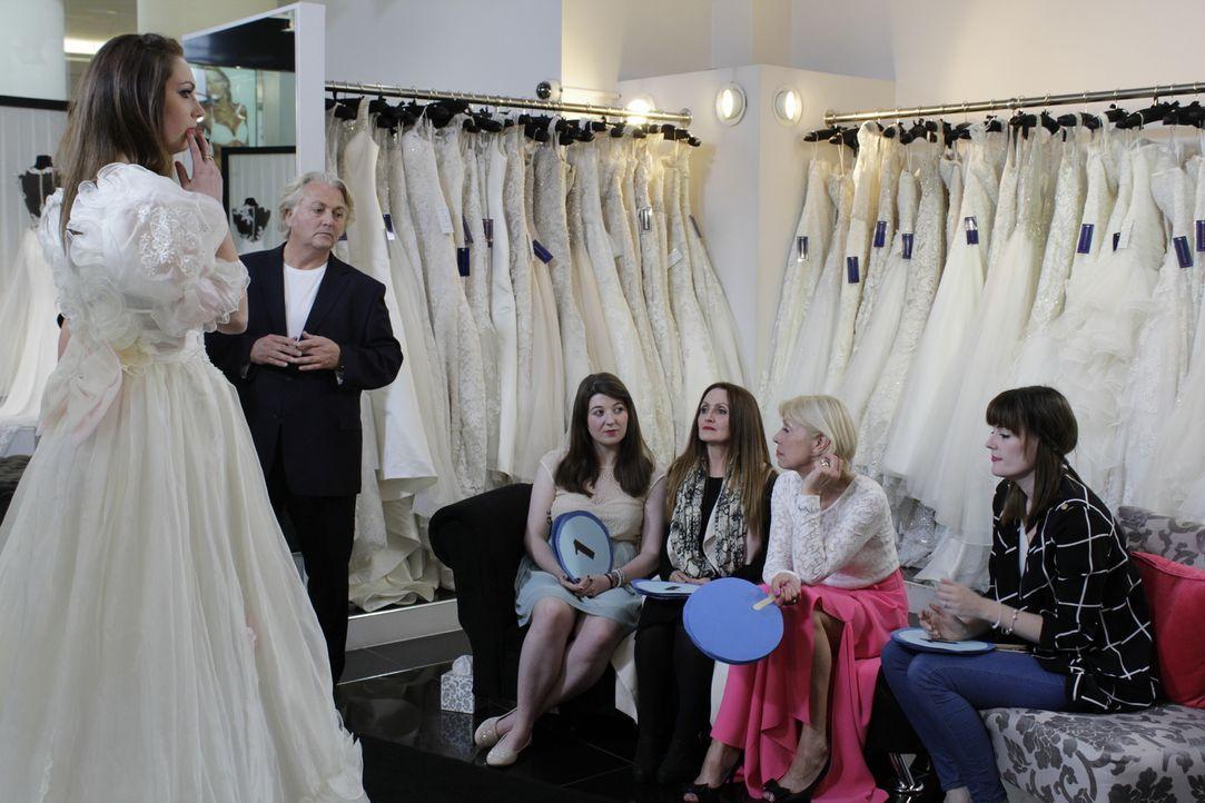 Beim Brautkleider-Shopping fährt man am besten, wenn man den Salon mit einer... - Bildquelle: TLC & Discovery Communications