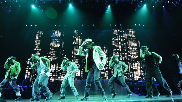 "Michael Jackson im Film ""THIS IS IT"""