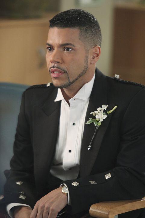 Macht sich große Sorgen um seinen Freund Brady, der bei ihrer Hochzeit von Pferden nieder getrampelt wurde: Kyle (Wilson Cruz) ... - Bildquelle: ABC Studios
