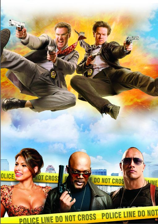 Die etwas anderen Cops - Artwork - Bildquelle: 2010 Columbia Pictures Industries, Inc. All Rights Reserved.