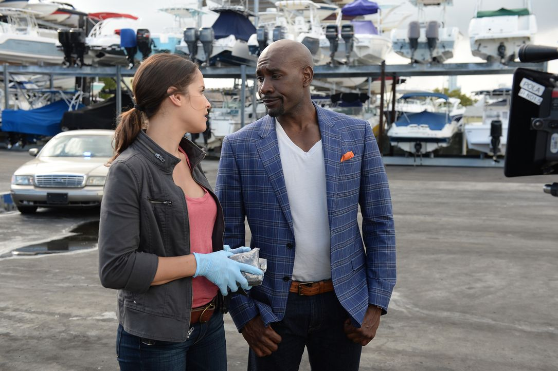 Kann der Privat-Pathologe Dr. Beaumont Rosewood Jr. (Morris Chestnut, r.) Detective Karissa Villa (Jaina Lee Ortiz, l.) davon überzeugen, dass die E... - Bildquelle: 2015-2016 Fox and its related entities.  All rights reserved.