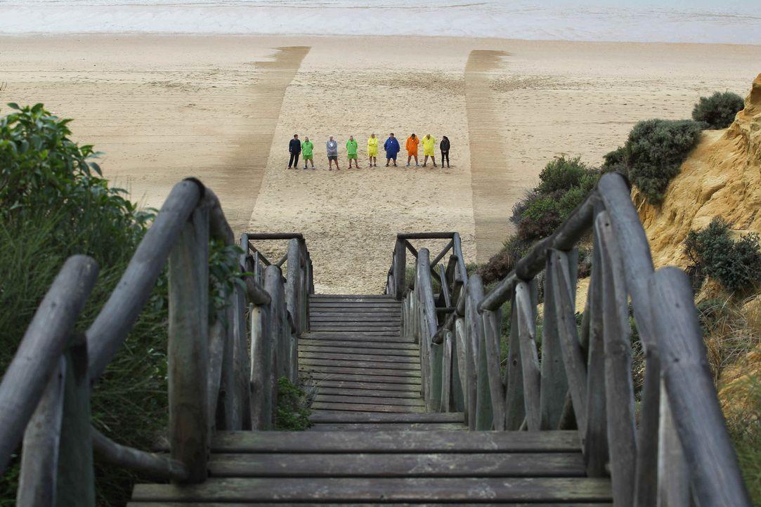 """""""Die Treppe"""" wartet auf die Kandidaten ... - Bildquelle: Enrique Cano SAT.1"""