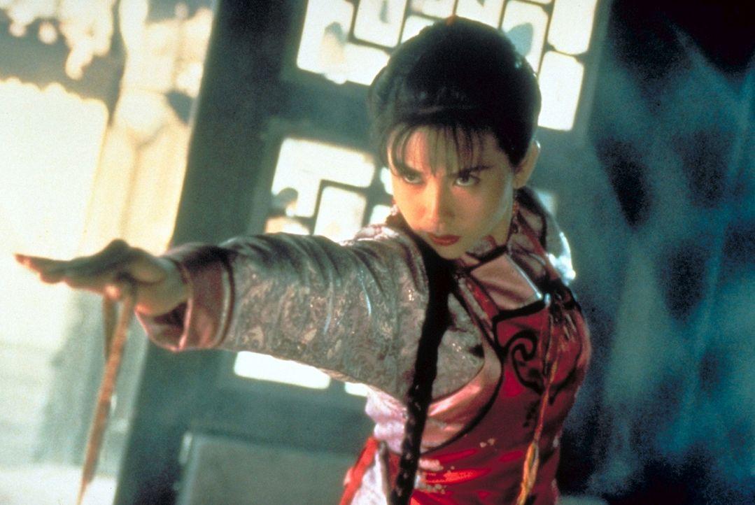 Im Kampf um den Tempel der Shaolin kämpfen Red Bean (Yau Shuk Ching) und ihrer Mutter Chu Siu Sin an der Seite Hongs ...