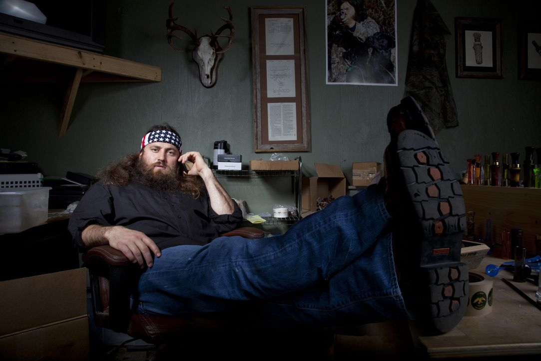 Um das Organisatorische bei Duck Commander kümmert sich Willie (Willie Robertson), doch hin und wieder verliert auch er den Überblick ... - Bildquelle: Zach Dilgard 2012 A+E Networks
