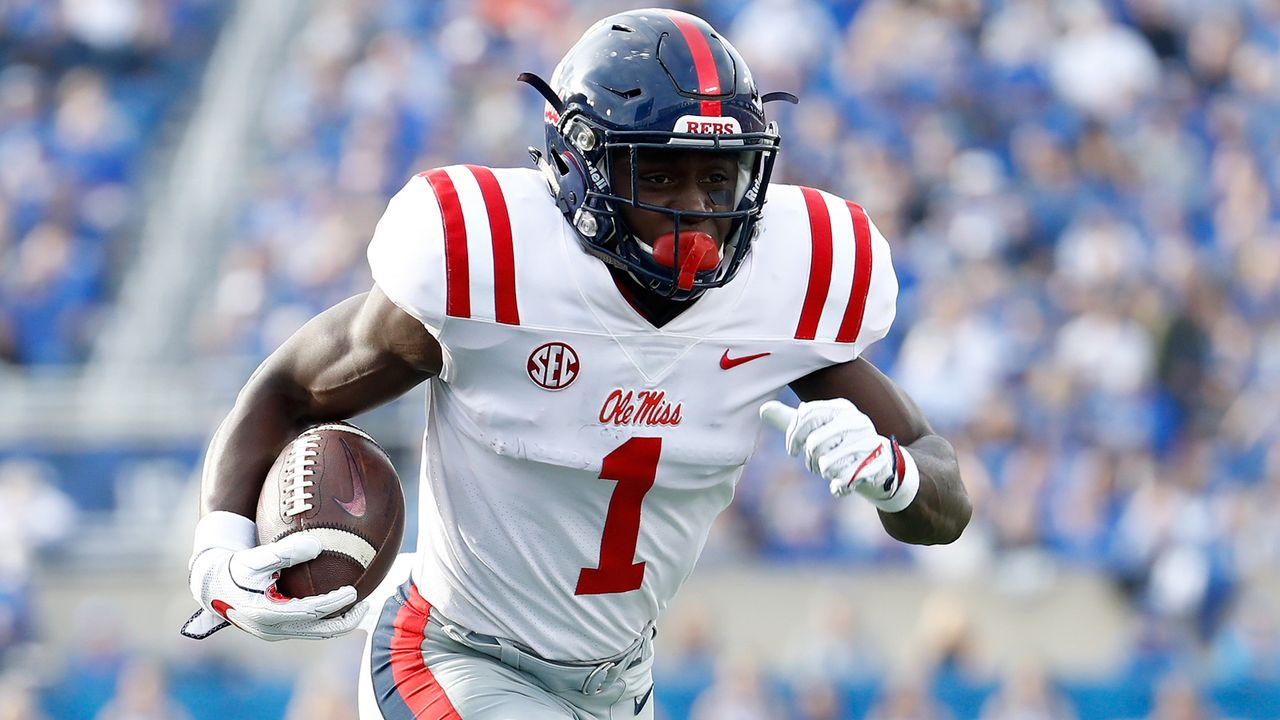 A.J. Brown (Wide Receiver, Ole Miss) - Bildquelle: 2017 Getty Images