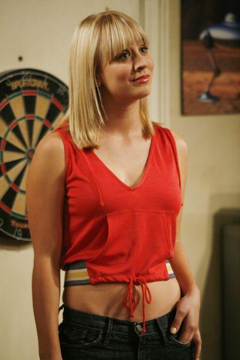 Macht sich Gedanken, ob Leslie Leonards Freundin ist: Penny (Kaley Cuoco) ... - Bildquelle: Warner Bros. Television