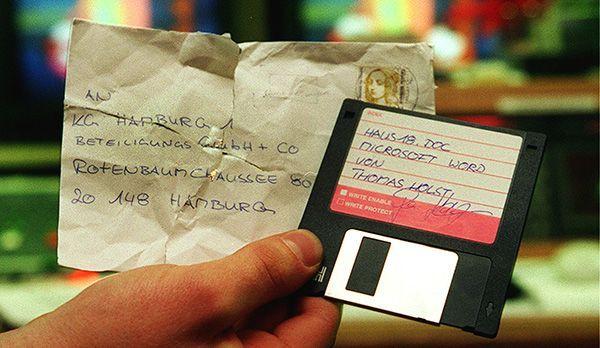 Platz 5: Floppy Disk - Bildquelle: dpa