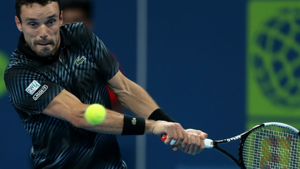 Sieger des ATP-Turniers in Doha: Roberto Bautista Agut - Bildquelle: AFPSIDKARIM JAAFAR