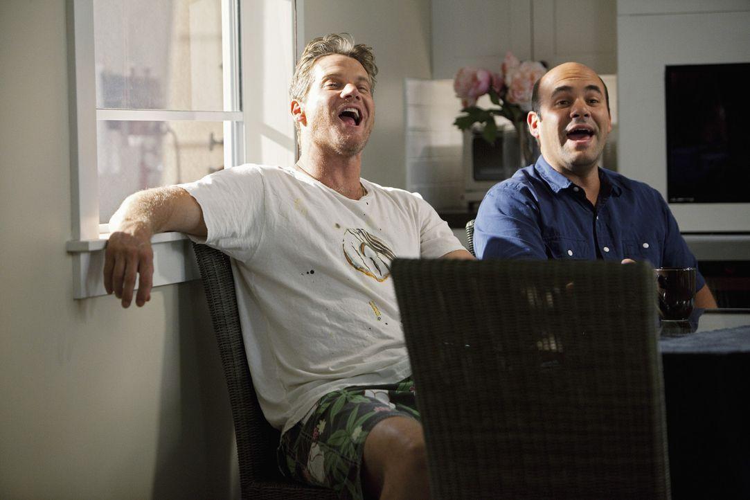 Sind auf der selben Wellenlänge: Andy (Ian Gomez, r.) und Bobby (Brian Van Holt, l.) ... - Bildquelle: 2010 ABC INC.