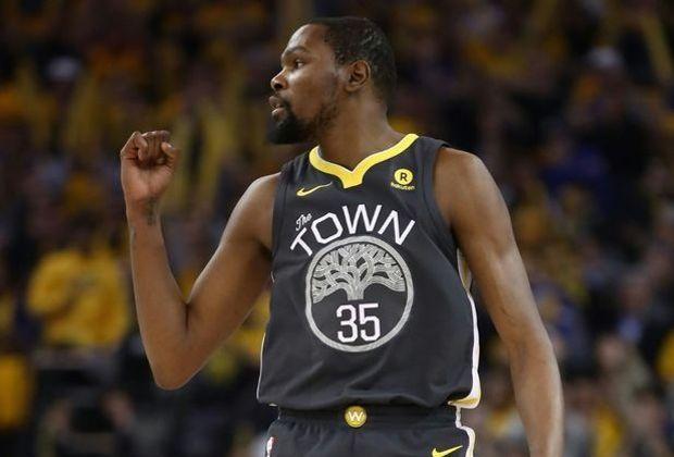 Warriors-Topscorer Kevin Durant