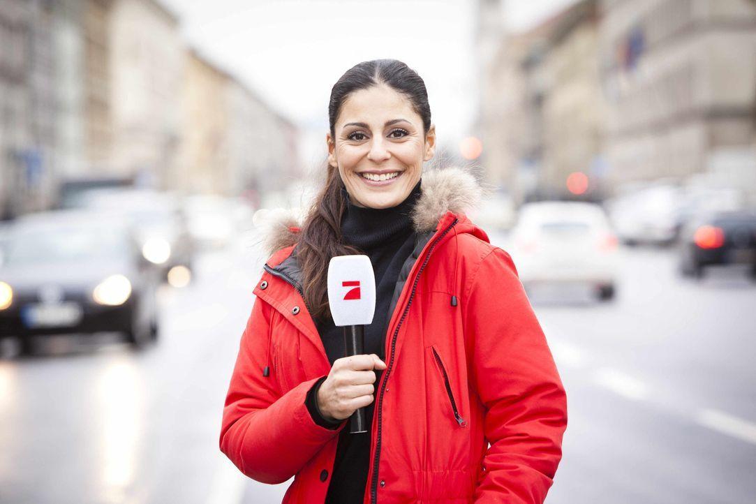 """Als Reporterin für """"Galileo"""" unterwegs: Funda Vanroy ... - Bildquelle: Benedikt Müller ProSieben"""