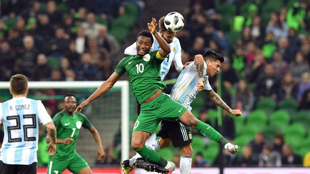 Argentinien verliert ohne Lionel Messi gegen Nigeria - Bildquelle: AFPSIDMLADEN ANTONOV