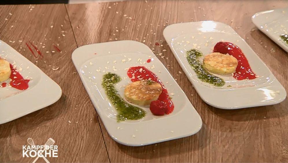 Pfannkuchen mit süßem Pesto
