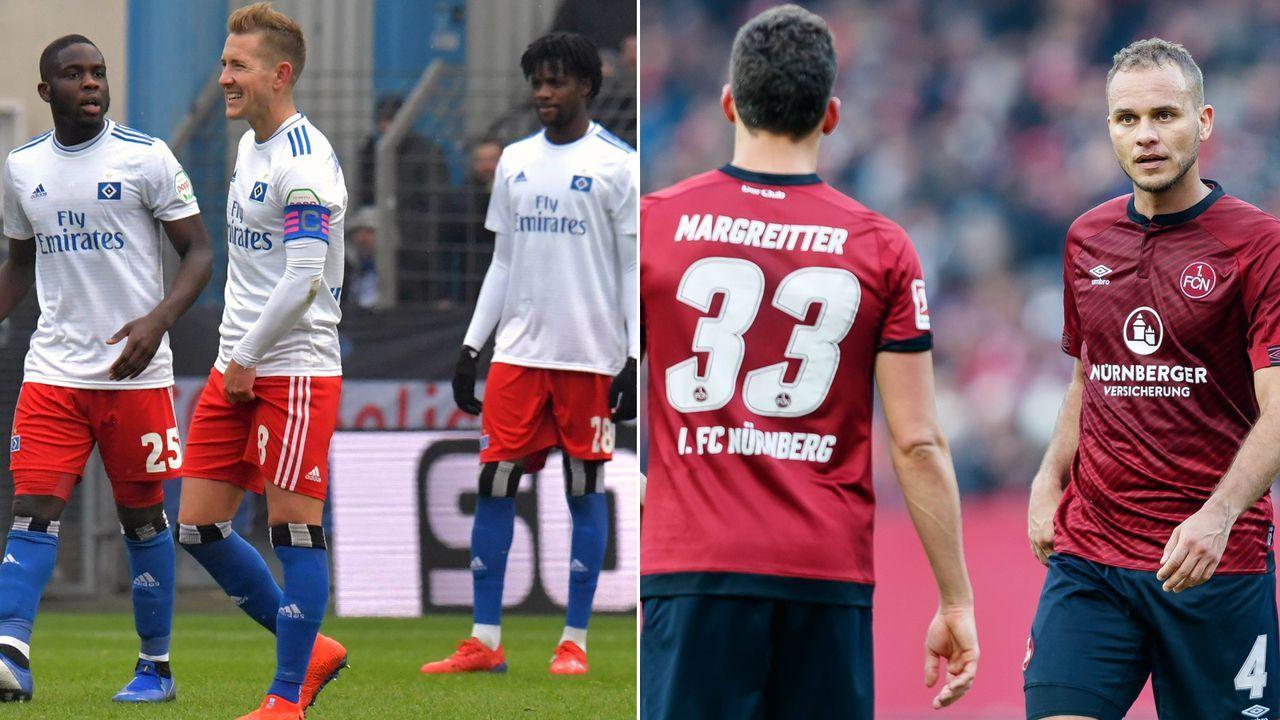 Hamburger SV - 1. FC Nürnberg 2:1 - Bildquelle: Imago/Getty Images