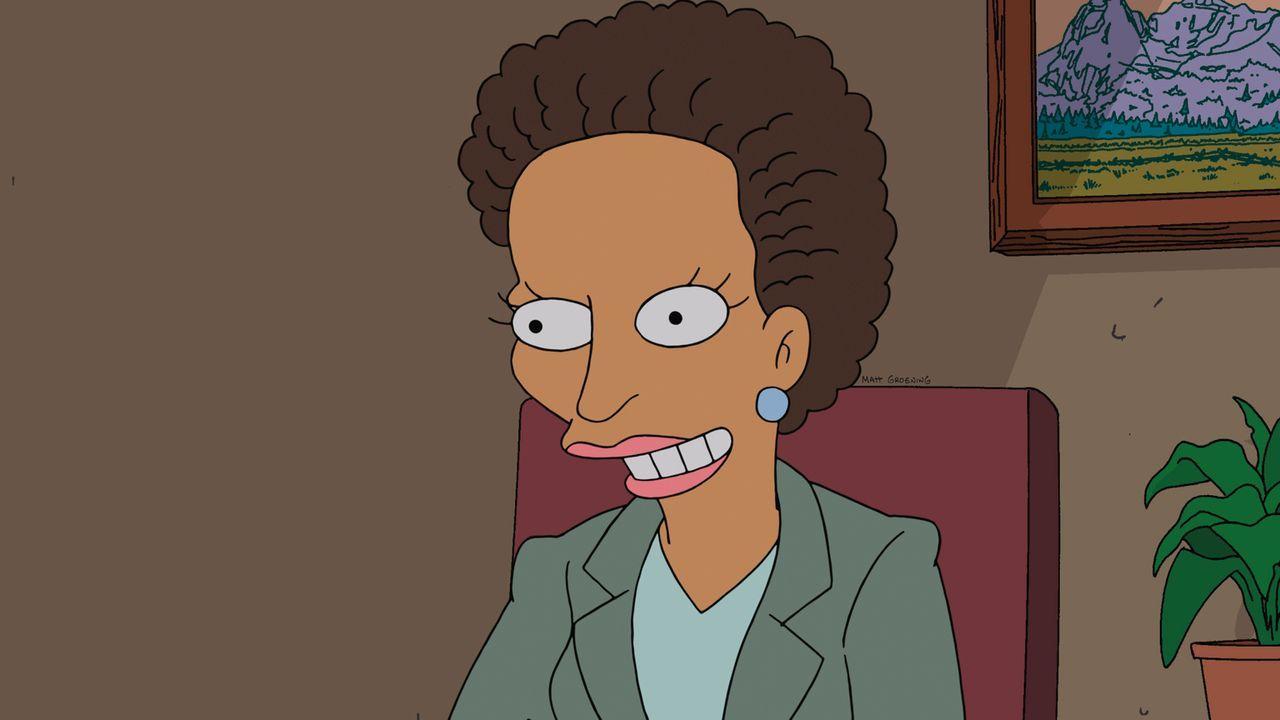 Während der Haussegen bei Homer und Marge schiefhängt, sucht Milhouse Rat bei der Schulberaterin ... - Bildquelle: und TM Twentieth Century Fox Film Corporation - Alle Rechte vorbehalten