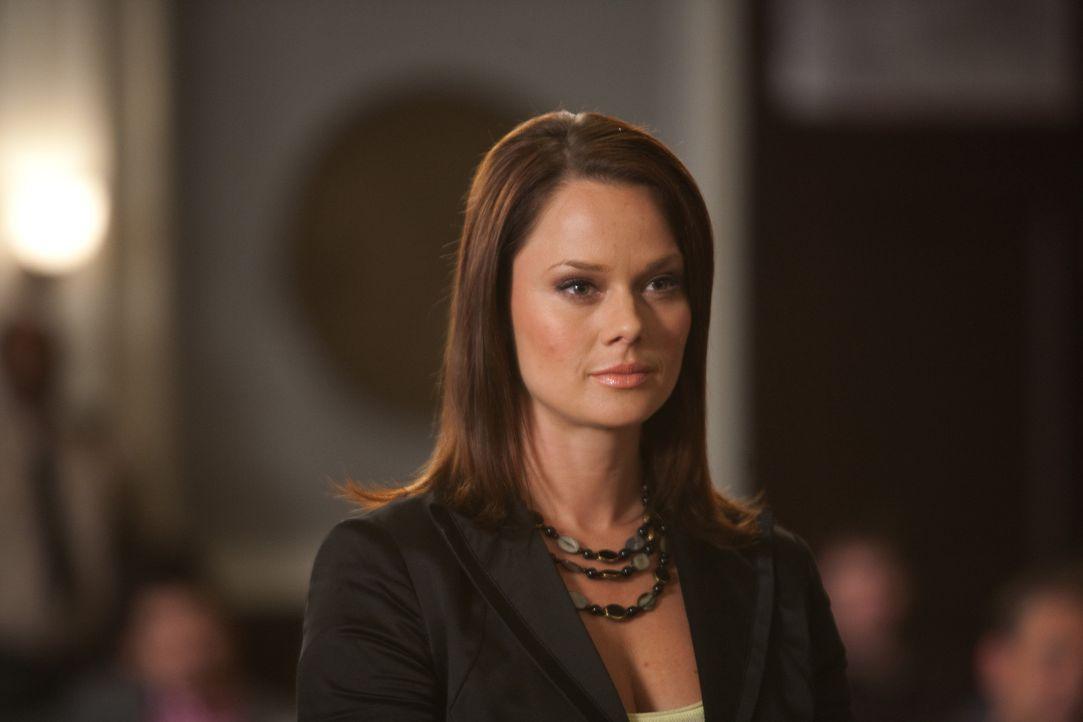 Soll Jane bei ihren Fall als Anwältin vertreten - doch Kim (Kate Levering) ist alles andere als begeistert davon, da sie weder Jane noch den Fall m... - Bildquelle: 2009 Sony Pictures Television Inc. All Rights Reserved.