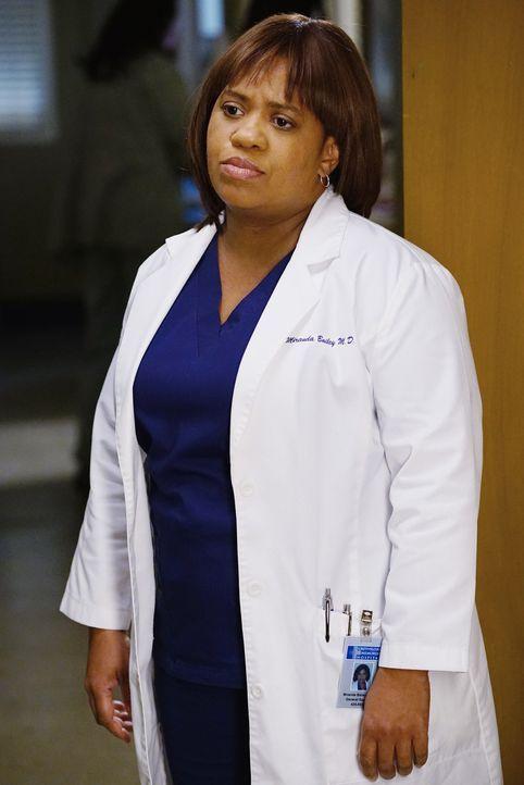 Macht sich Sorgen um Bens Bruder, der ins Krankenhaus eingeliefert wird: Bailey (Chandra Wilson) ... - Bildquelle: ABC Studios