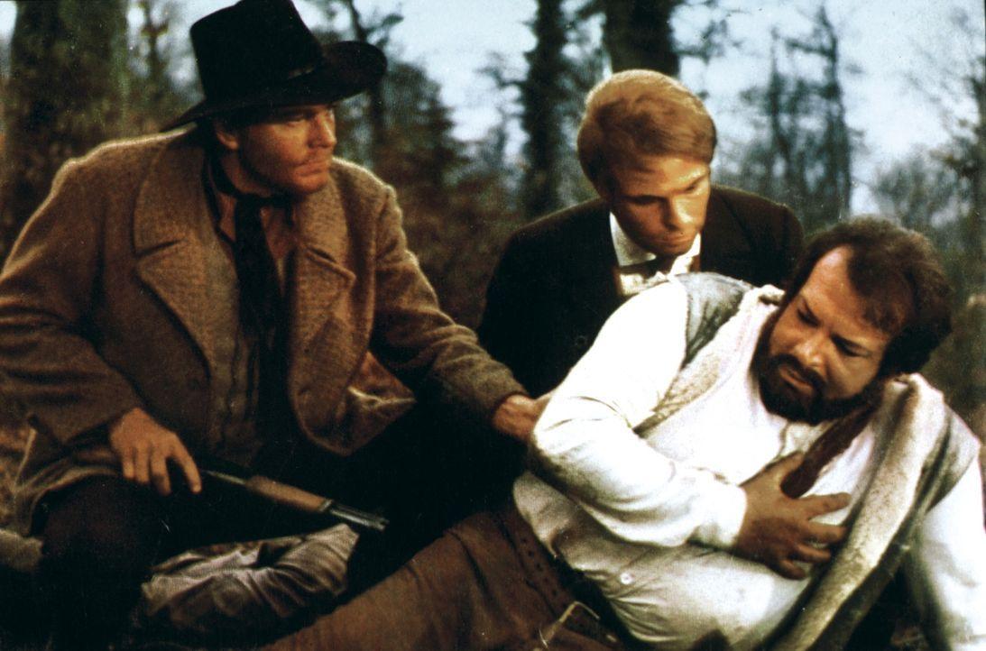 Bill Kiowa will sich an dem Mann rächen, der ihn unschuldig in Gefängnis brachte und holt sich Unterstützung von den Revolvermännern Jeff Milton (Wa...