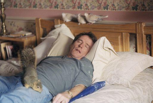 Malcolm mittendrin - Vater Hal (Bryan Cranston) gönnt sich ein Nickerchen ......