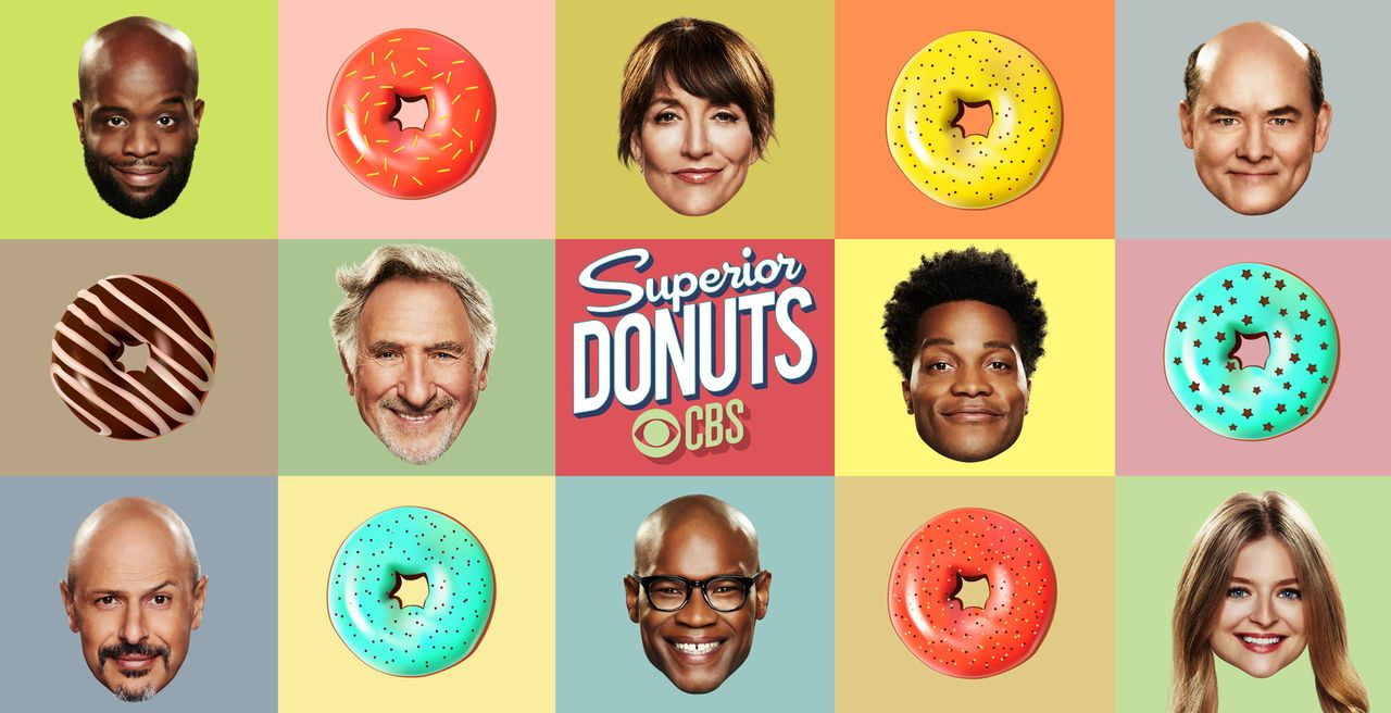 (1. Staffel) - Superior Donuts - Artwork - Bildquelle: 2016 CBS Broadcasting, Inc. All Rights Reserved.