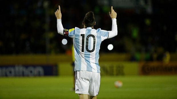 Argentiniens Superstar Lionel Messi