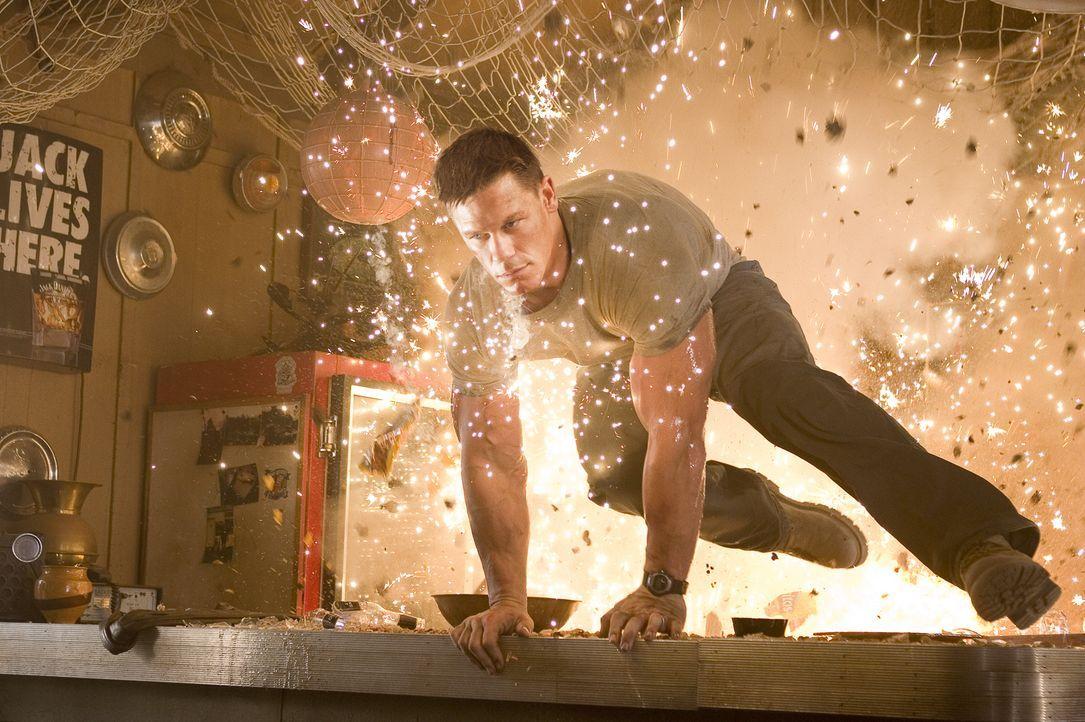Um seine Frau aus den Fängen eines brutalen Gangsterbosses zu befreien, schreckt der ehemalige Marinesoldat John Triton (John Cena) vor nichts zurüc... - Bildquelle: 2006 Twentieth Century Fox Film Corporation.  All rights reserved.