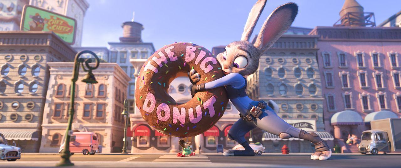 Polizistin Judy Hopps tut alles, um Leben zu retten, selbst wenn sie sich dafür selbst in Gefahr bringt ... - Bildquelle: 2015 Disney. All Rights Reserved.