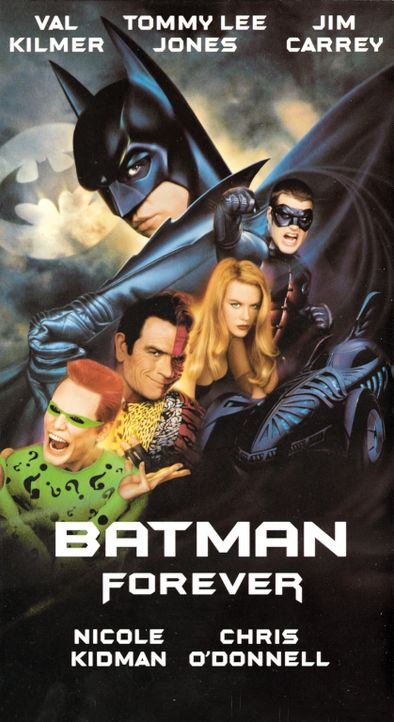 Batman Forever ... - Bildquelle: Warner Brothers International