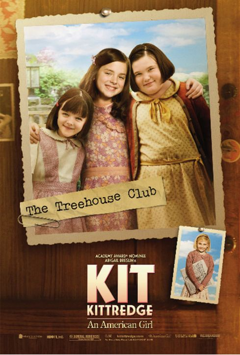 KIT KITTREDGE - mit Madison Davenport (M.) und Brieanne Jansen (r.) - Bildquelle: Warner Brothers
