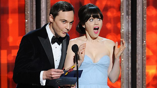 emmy-awards-Jim-Parsons-Zooey-Deschanel-12-09-23-getty-AFP - Bildquelle: getty-AFP