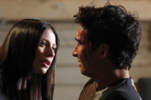 Criminal Minds - Warum hat Diane (Michelle Trachtenberg, l.) ihren Freund Bob...