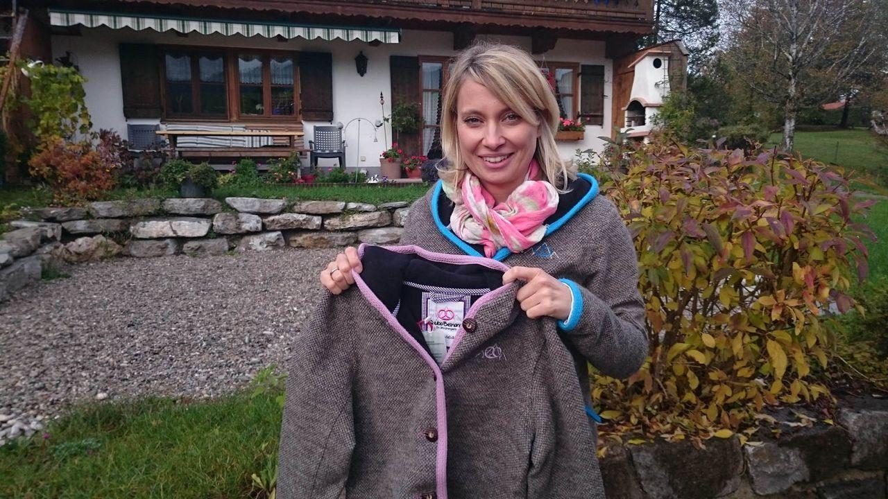 Nach einem schweren Schicksalsschlag verwirklicht die junge Mutter Daniela Steinberger ihren Traum von der Selbstständigkeit: Sie entwirft wasserfes... - Bildquelle: kabel eins
