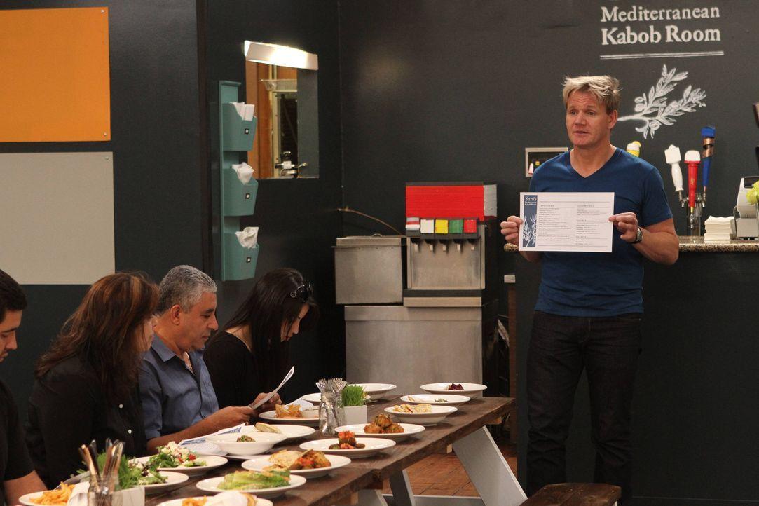 """Innerhalb der Familie, die das mediterranen Restaurant """"Sam's Kabob Room"""" in Monrovia, California betreibt,  gibt es Konflikte - und das sogar vor d... - Bildquelle: Jeff Neira FOX"""