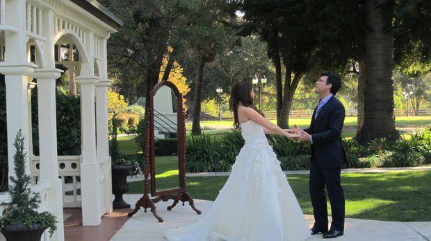 (4. Staffel) - David Tutera (r.), der Wedding-Planner der Stars, organisiert...
