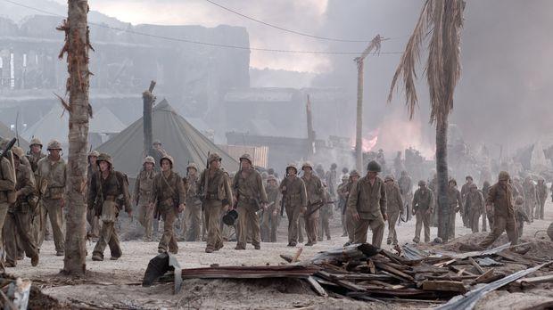 Am 25. November 1944 erklären die Amerikaner die Kämpfe für beendet. Die Sold...