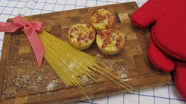 Rezept spaghetti muffins