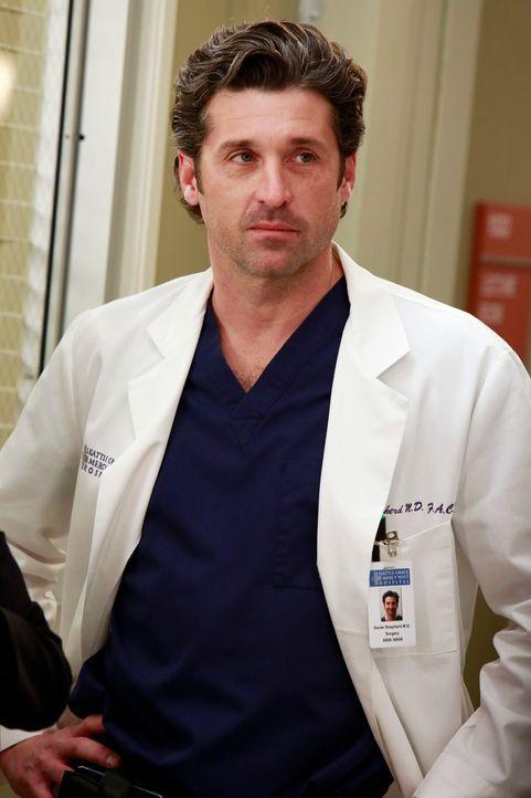 Dr. Derek Shepherd (Patrick Dempseym) weiß was es für eine Belastung und Verantwortung mit sich bringt, ein Krankenhaus zu leiten. Trotzdem möchte e... - Bildquelle: ABC Studios