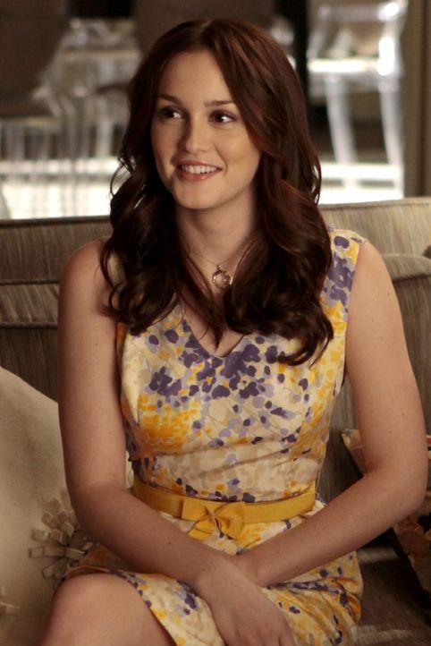 Blair (Leighton Meester) hat ein Date und nach anfänglichen Ängsten freut sie sich nun darauf ... - Bildquelle: Warner Bros. Television