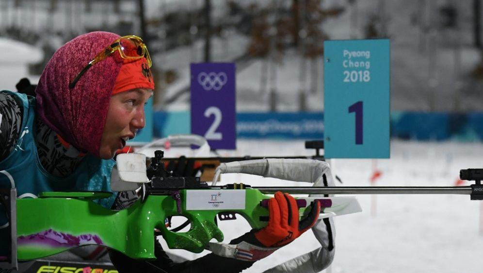 Laura Dahlmeier geht mit Startnummer 80 ins Einzelrennen - Bildquelle: AFPSIDKIRILL KUDRYAVTSEV