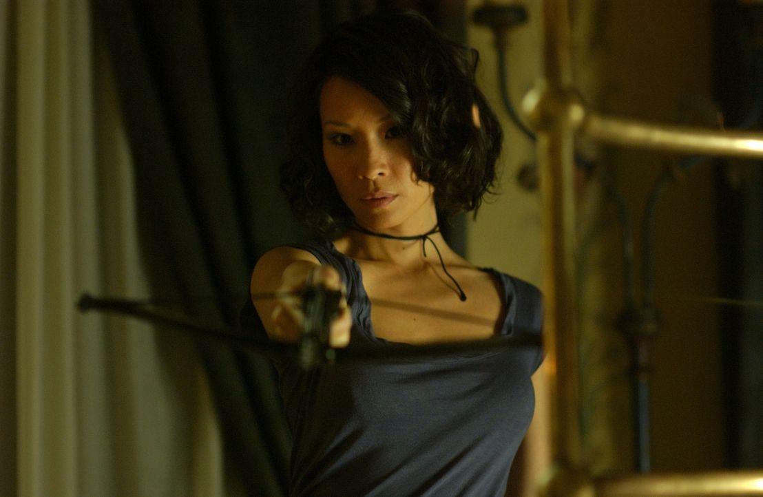 Startet einen blutrünstigen Rachefeldzug gegen die Sektenmitglieder und ihren hedonistischen Chef: Sadie Blake (Lucy Liu) ...