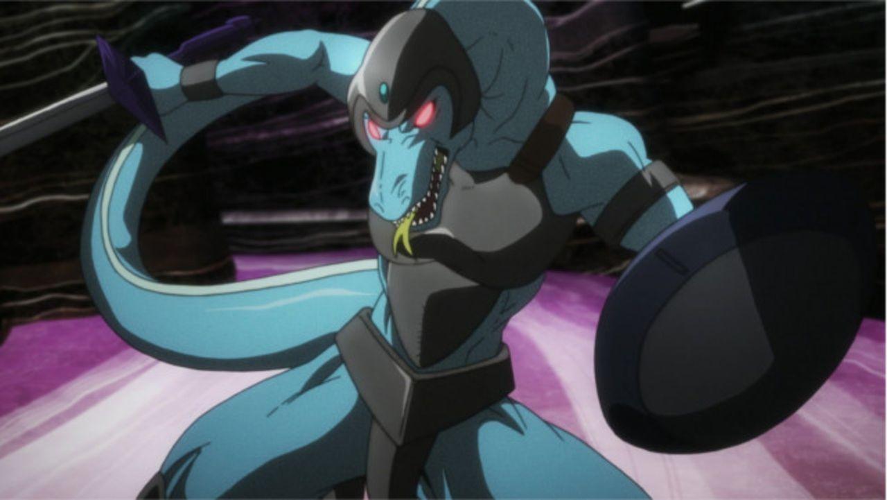 Kirito muss mit einem Lizardman Lord (Bild), einem Monster aus Level 82, kämpfen ... - Bildquelle: REKI KAWAHARA/ASCII MEDIA WORKS/SAO Project